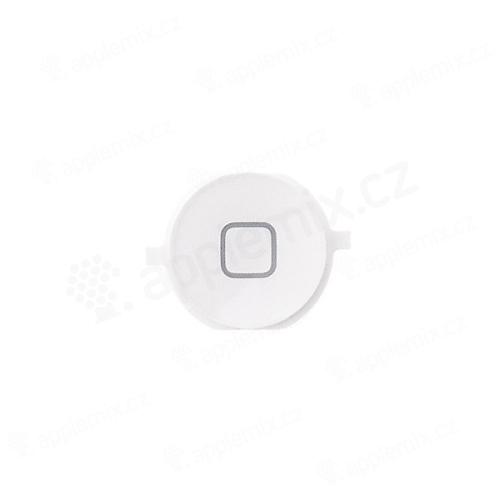 Tlačítko Home Button pro Apple iPhone 4/ 4S - bílé - kvalita A+