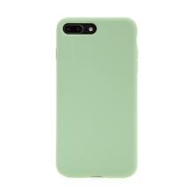 Kryt pro Apple iPhone 7 Plus / 8 Plus - příjemný na dotek - silný - silikonový - zelený