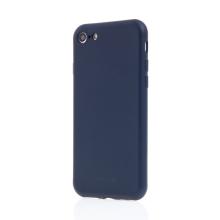 Kryt SWISSTEN Soft Joy pro Apple iPhone 7 / 8 / SE (2020) - příjemný na dotek - silikonový - tmavě modrý