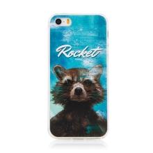 Kryt MARVEL pro Apple iPhone 5 / 5S / SE - Strážci Galaxie - Rocket - gumový