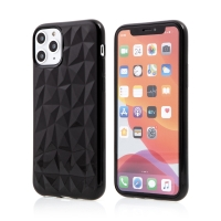 Kryt FORCELL Prism pro Apple iPhone 11 Pro Max - diamantový 3D povrch - gumový