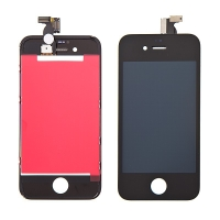 LCD panel + dotykové sklo (touch screen digitizér) pro Apple iPhone 4 - černý - kvalita A+