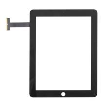 Přední dotykové sklo (touch screen) pro Apple iPad 1.gen. - černý rámeček - kvalita A