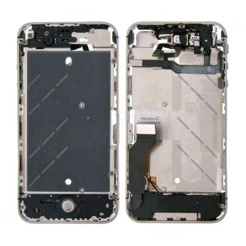 Osazený středový rámeček pro Apple iPhone 4S - kvalita A+