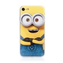 Kryt MIMONI pro Apple iPhone 7 / 8 / SE (2020) - smějící se mimoň - žlutý