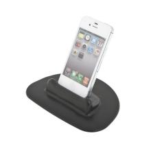 Univerzální silikonový držák do automobilu pro zařízení Apple a podobná zařízení - malý