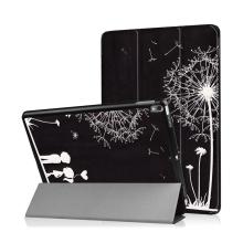 Pouzdro / kryt pro Apple iPad Pro 10,5 - funkce chytrého uspání + stojánek - pár a pampeliška