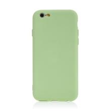 Kryt pro Apple iPhone 6 / 6S - příjemný na dotek - silikonový - zelený