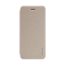 Pouzdro NILLKIN Sparkle pro Apple iPhone 7 / 8 - třpytivý - umělá kůže - zlaté