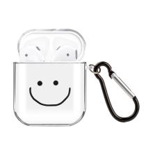 Pouzdro / obal pro Apple AirPods - gumové - smajlík