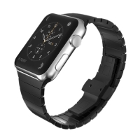 Řemínek pro Apple Watch 40mm Series 4 / 5 / 38mm 1 / 2 / 3 - ocelový