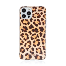 Kryt BABACO pro Apple iPhone 12 / 12 Pro - gumový - leopardí vzor