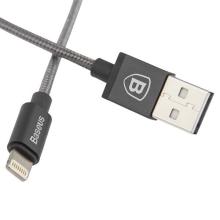 MFi certifikovaný synchronizační a nabíjecí kabel Lightning Baseus - šedý