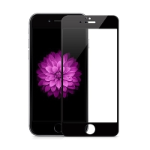 Odolné tvrzené sklo HOCO (Tempered Glass) na přední část Apple iPhone 6 Plus / 6S Plus - Anti-blue-ray - černé - 0,25mm + zadní