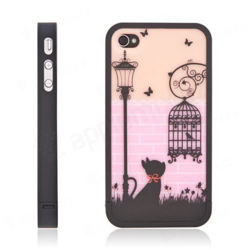 Ochranný kryt Black Cat pro Apple iPhone 4 / 4S