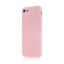 Kryt SWISSTEN Soft Joy pro Apple iPhone 7 / 8 / SE (2020) - příjemný na dotek - silikonový - růžový