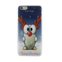 Kryt pro Apple iPhone 6 Plus / 6S Plus plastový - karikatura - vánoční sob