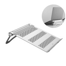 Stojánek / podstavec BENKS pro Apple Macbook - stavitelný - kovový - stříbrný