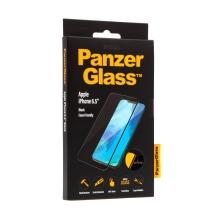 Tvrzené sklo (Tempered Glass) PANZERGLASS pro Apple iPhone Xs Max Casefriendly 2,5D - černý rámeček - 0,4 mm