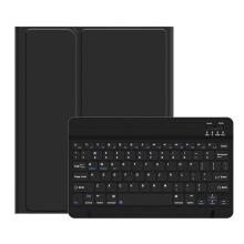 """Klávesnice USAMS Bluetooth odnímatelná + kryt / pouzdro pro Apple iPad 10,2"""" - černá"""