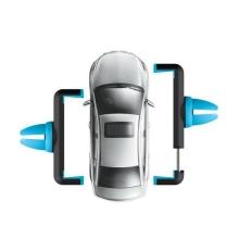Univerzální 360° otočný držák HOCO na ventilační mřížku automobilu pro Apple iPhone a další zařízení - černo-modrý