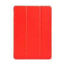 """Pouzdro / kryt pro Apple iPad 9,7 (2017-2018) / Air 1 / 2 / Pro 9,7"""" - funkce chytrého uspání - gumové - červené"""