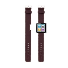 Hodinkový řemínek pro Apple iPod nano 6 - hnědý