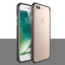 Rámeček / bumper TOTU pro Apple iPhone 7 Plus / 8 Plus - guma / hliník - černý