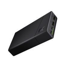Externí baterie / power bank GREENCELL PowerPlay20 - 20000 mAh - 2x USB + USB-C - černá