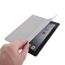 Ochranné pouzdro pro Apple iPad 2. / 3. / 4.gen. - pouzdro + stojan + Smart Cover - šedé
