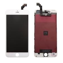 LCD panel + dotykové sklo (touch screen digitizér) pro Apple iPhone 6 Plus - bílý - kvalita A