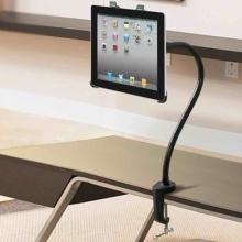 Ohebný kovový stojan s rotačním nastavitelným držákem pro Apple iPad a podobná zařízení