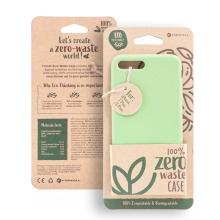 Kryt FORCELL BIO - pro Apple iPhone 7 Plus / 8 Plus - Zero Waste kompostovatelný kryt - zelený