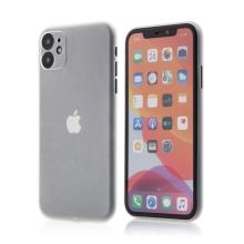 Kryt pro Apple iPhone 11 - s prvkem pro ochranu skla kamery - plastový - průhledný