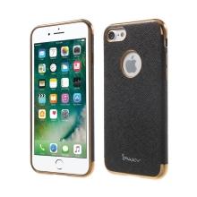 Kryt IPAKY pro Apple iPhone 7 / 8 - výřez pro logo / gumový