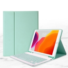 "Klávesnice pro Apple iPad 10,2"" (2019 - 2020) / iPad Pro 10,5"" / Air 10,5"" - zelená"