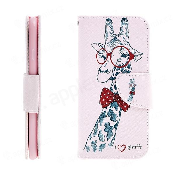 2198f64efb Pouzdro   kryt pro Apple iPhone 7   8 - prostor pro doklady   stojánek -  žirafa