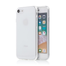 Kryt pro Apple iPhone 7 / 8 / SE (2020) - gumový - průhledný