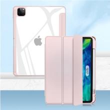 """Pouzdro MUTURAL pro Apple iPad 11"""" (2018 / 2020 / 2021) - stojánek + prostor pro Apple Pencil - růžové"""