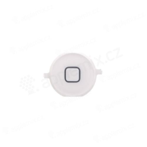 Tlačítko Home Button pro Apple iPhone 4S - bílé - kvalita A