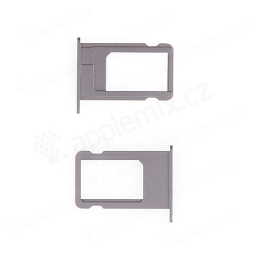 Rámeček / šuplík na Nano SIM pro Apple iPhone 6 - stříbrný (silver)