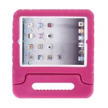 Ochranné pěnové pouzdro pro děti na Apple iPad 2. / 3. / 4.gen. s rukojetí / stojánkem - růžové