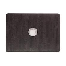 """Obal / kryt pro Apple MacBook Air 13"""" (model A1369, A1466) - potah umělá kůže - černý"""