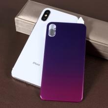 Tvrzené sklo (Tempered Glass) RURIHAI pro Apple iPhone X / Xs - na zadní stranu - fialové - 3D