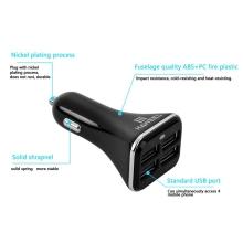 Nabíječka do auta HAWEEL s 4 USB porty (6.8A) - černá