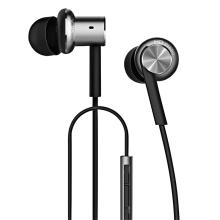 Sluchátka XIAOMI pro Apple zařízení - ovládání + mikrofon - kovová - stříbrná
