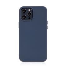 Kryt pro Apple iPhone 12 Pro Max - příjemný na dotek - silikonový - tmavě modrý