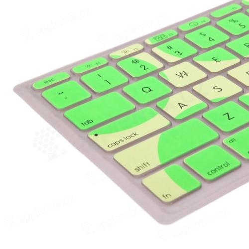 Kryt klávesnice pro Apple Macbook Air 11,6 - zelená - US verze