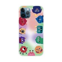 Kryt pro iPhone 12 Pro Max - gumový - příšery
