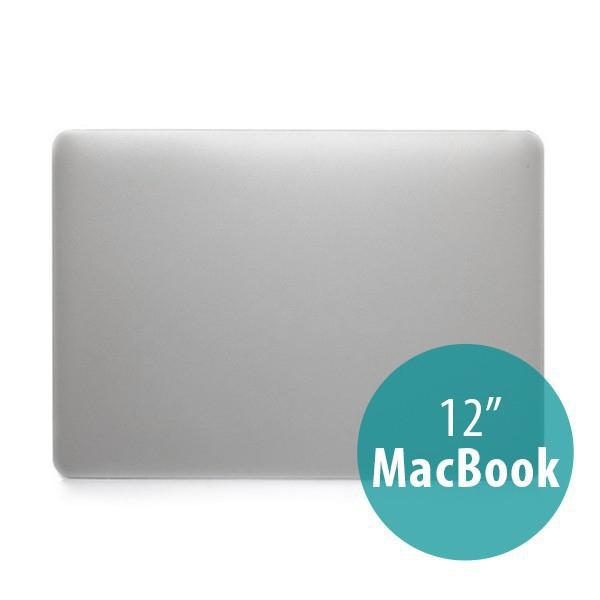 Plastový obal / kryt pro Apple MacBook 12 Retina (rok 2015) - stříbrný